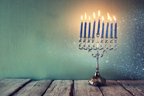 Hanukah a celebration predating Christmas.