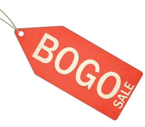 BOGO. Get a deal!