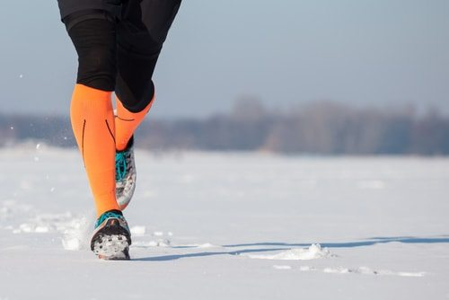Take of those feet and lower extremeties when winter running