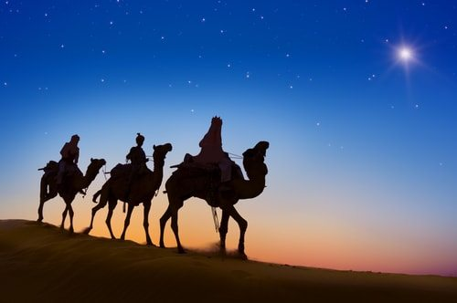 No three wise men?   I loved that story.