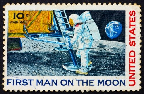 Putting a man on the moon!