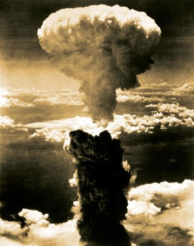 The atomic bomb changed warfare forever.