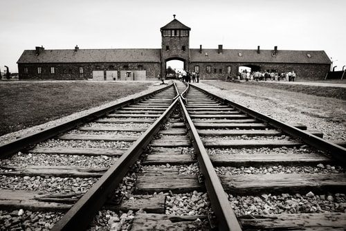 Auschwitz. A house of torture and death.