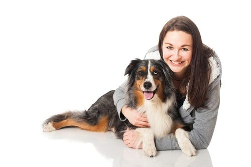 Australian shepherds form strong bonds with their owners. And vice versa.