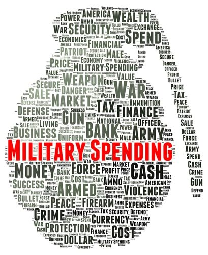 Cutting the defense budget is recipe for disaster.