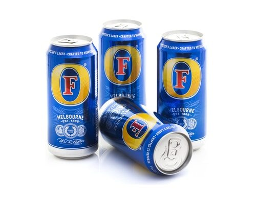 Pretty sure Fosters is Australian for Beer