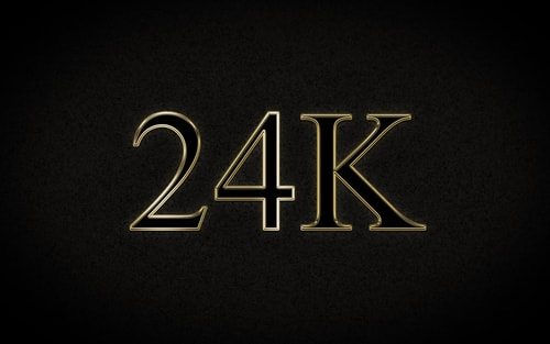 24K all day? Nope, all year.
