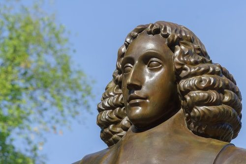 Baruch Spinoza: smart dude.