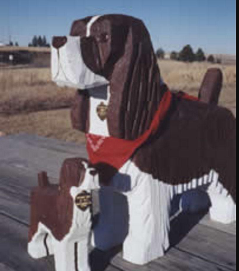 The Dog Bark Park Inn, Idaho, US.