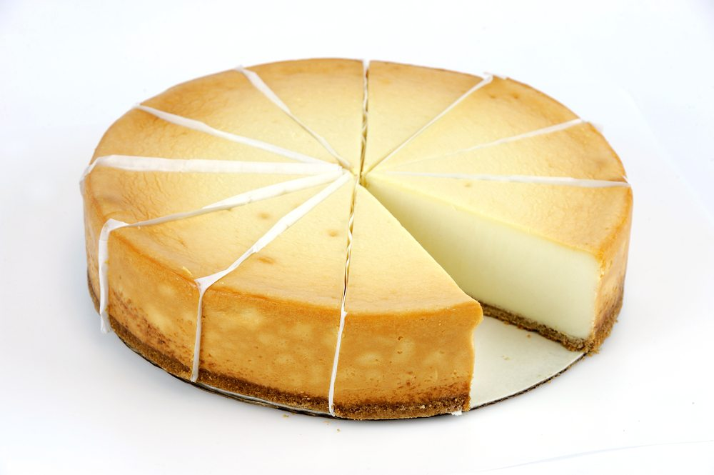I only have the motivation for one more, ok two more, slices of cheesecake