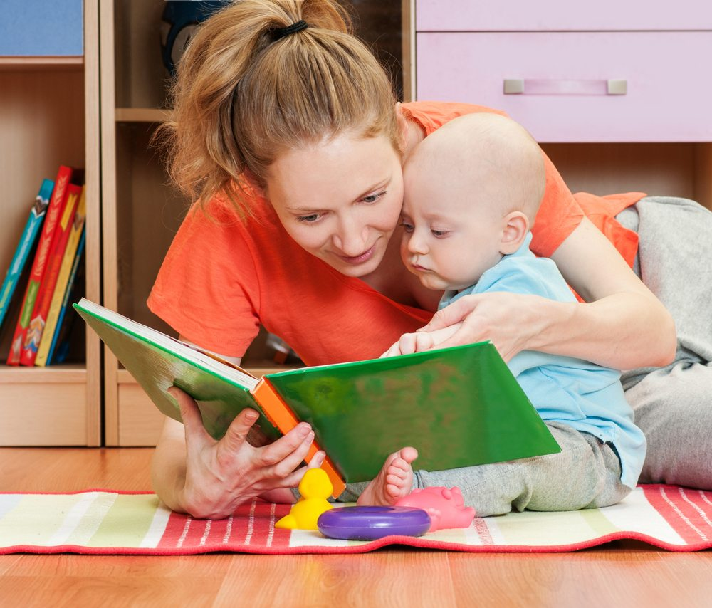Read your favorite novels to your little one.