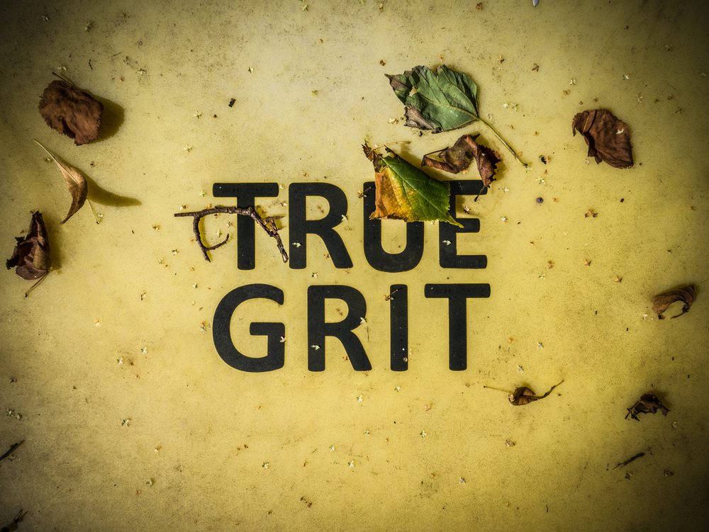 Teach your baby to develop true grit.