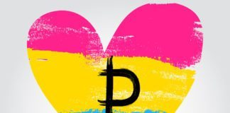 Pansexual Flag Heart