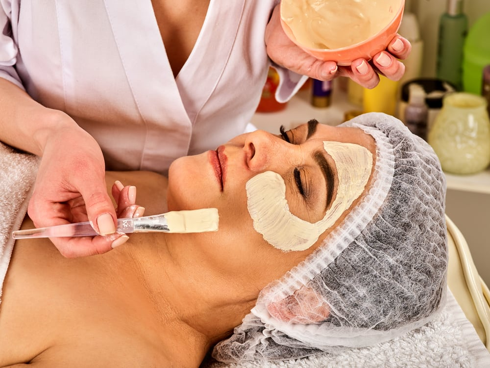Facials may exacerbate skin problems